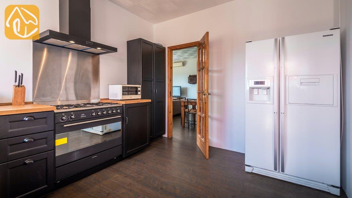 Vakantiehuizen Costa Brava Spanje - Villa Elize - Keuken