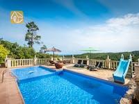 Ferienhäuser Costa Brava Spanien - Villa Elize - Schwimmbad