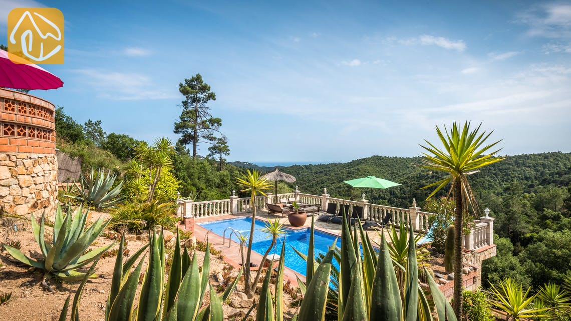 Vakantiehuizen Costa Brava Spanje - Villa Elize - Zwembad