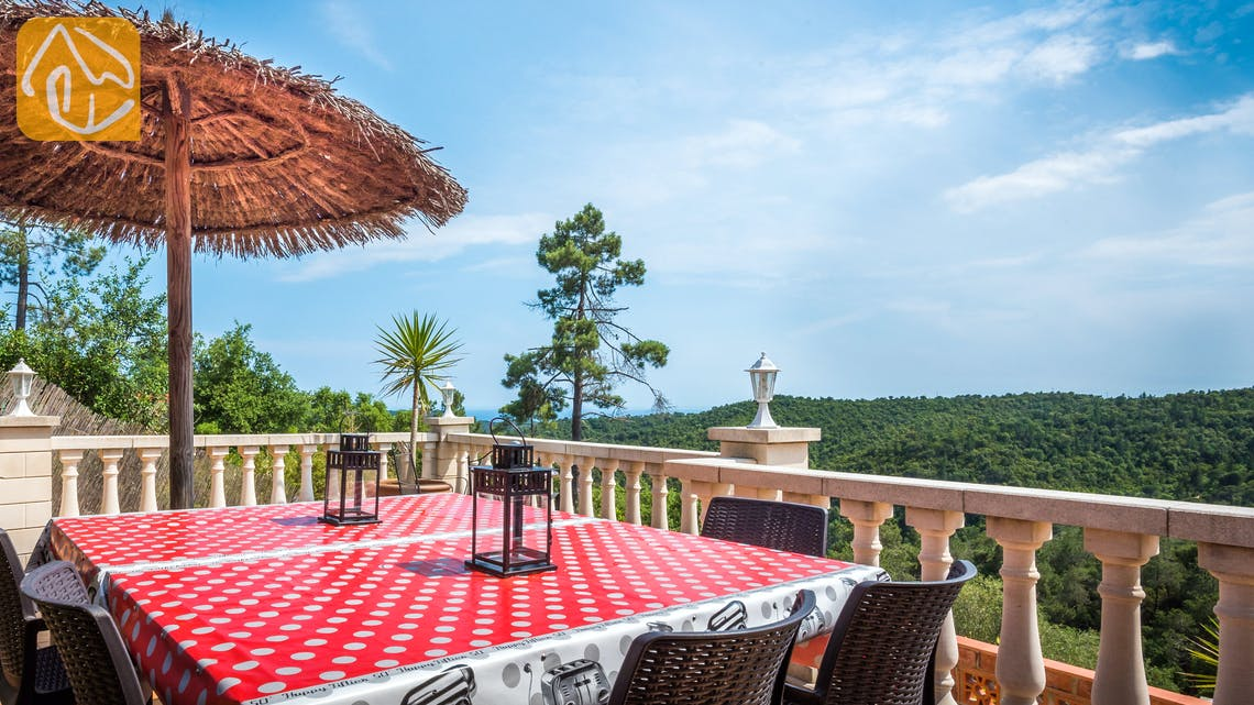 Vakantiehuizen Costa Brava Spanje - Villa Elize - Terras