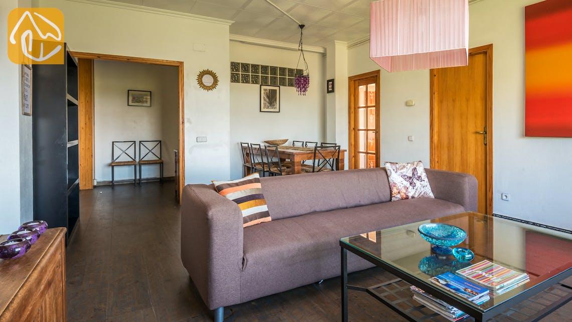 Vakantiehuizen Costa Brava Spanje - Villa Elize - Woonkamer