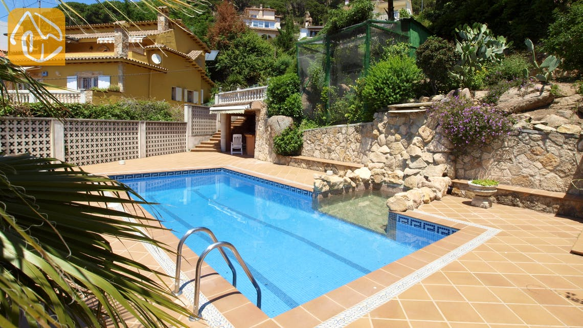 Villas de vacances Costa Brava Espagne - Villa Maribel - Piscine