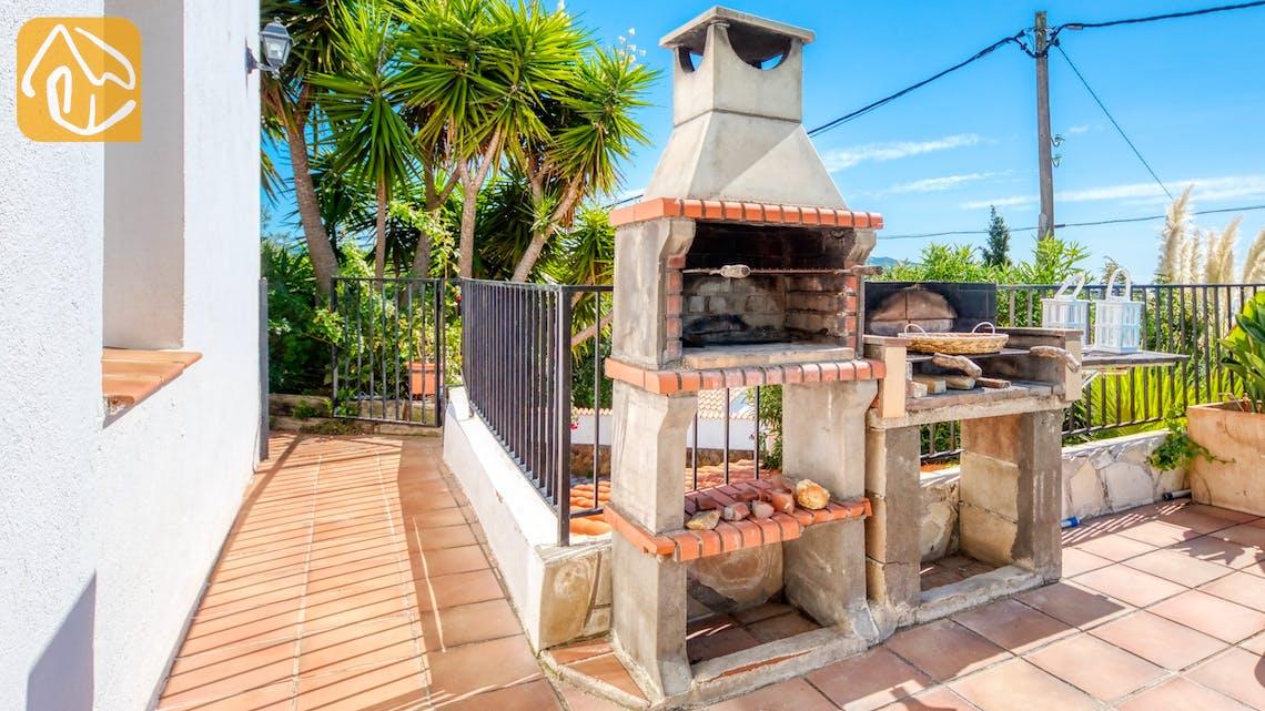 Ferienhäuser Costa Brava Spanien - Villa Sofia - BBQ Area