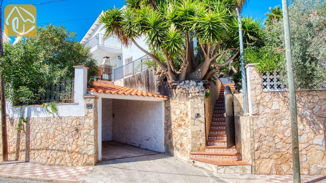 Ferienhäuser Costa Brava Spanien - Villa Sofia - Villa Außenbereich