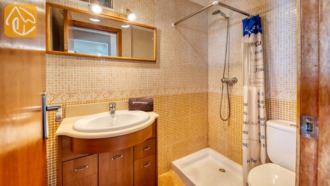 Vakantiehuizen Costa Brava Spanje - Villa Sofia - Badkamer