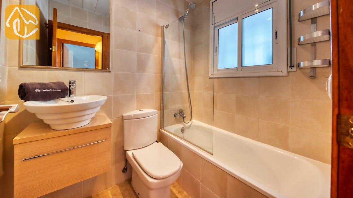Ferienhäuser Costa Brava Spanien - Villa Sofia - Badezimmer