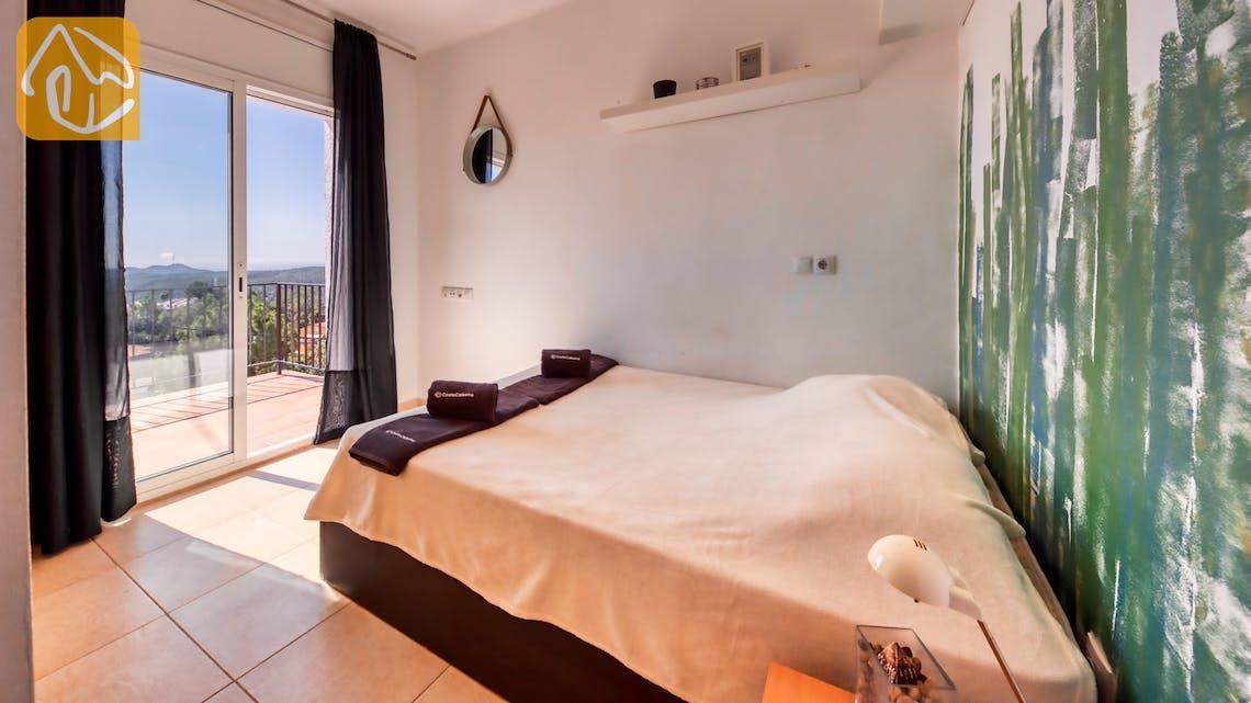 Villas de vacances Costa Brava Espagne - Villa Sofia - Chambre a coucher