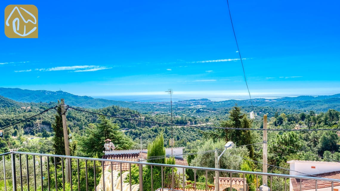 Villas de vacances Costa Brava Espagne - Villa Sofia - une des vues