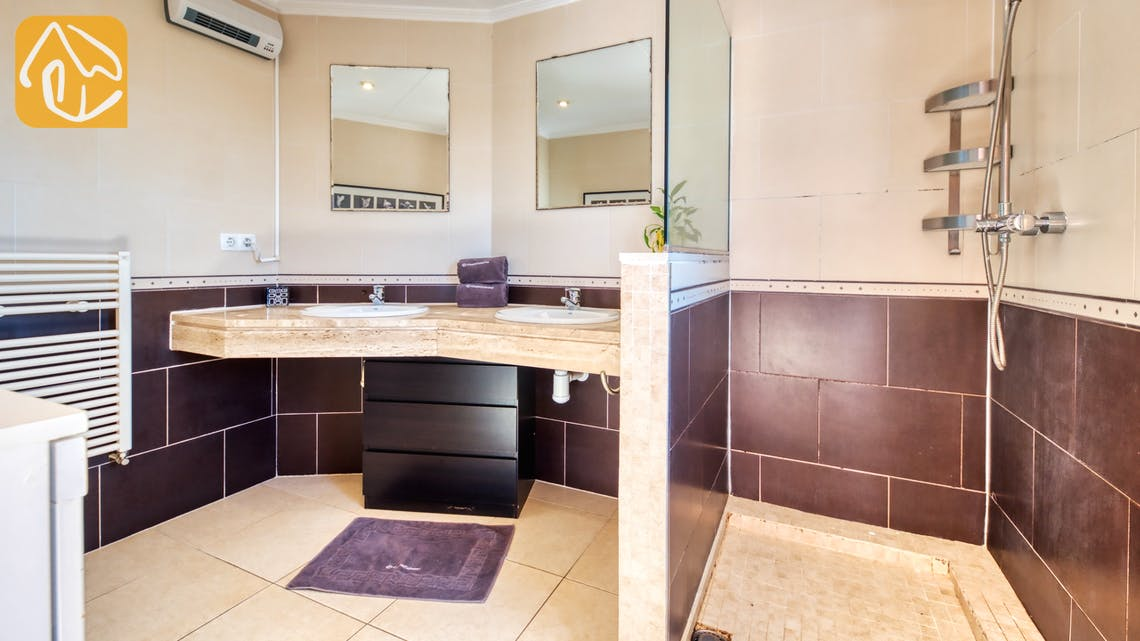 Villas de vacances Costa Brava Espagne - Villa Sofia - Salle de bain