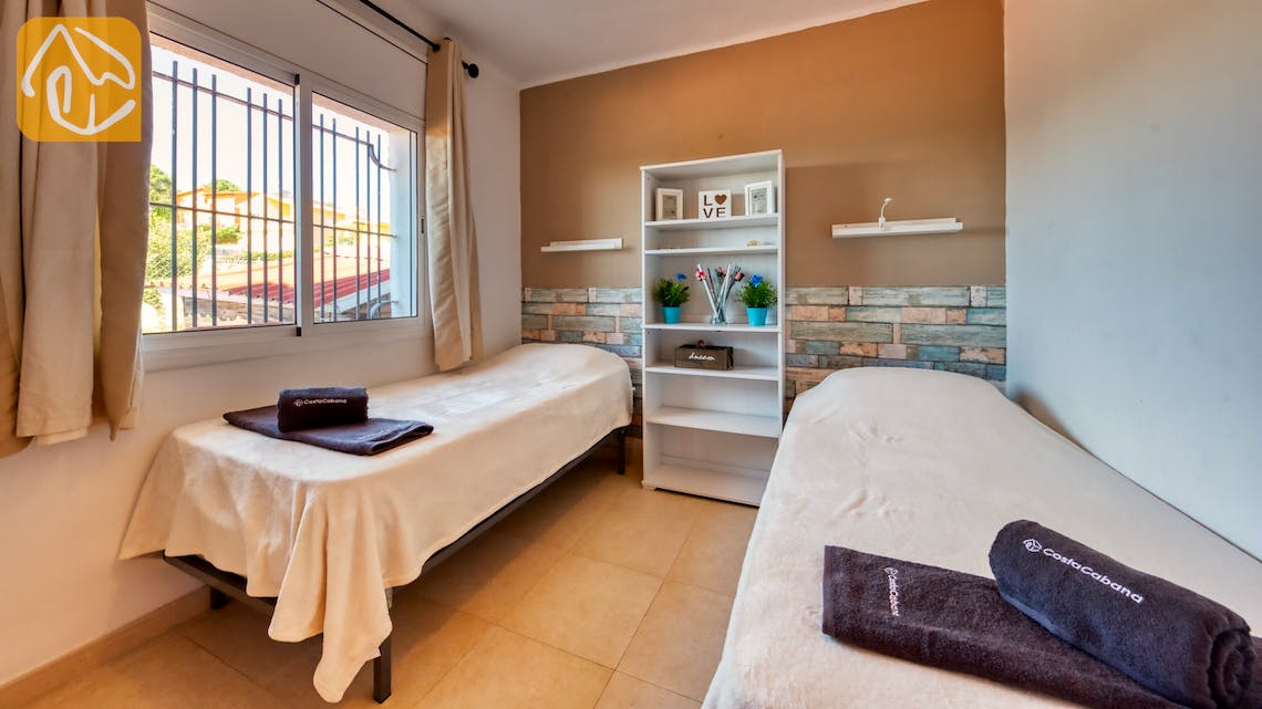 Holiday villas Costa Brava Spain - Villa Sofia - Bedroom