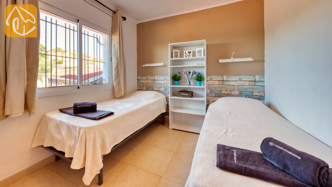 Vakantiehuizen Costa Brava Spanje - Villa Sofia - Slaapkamer