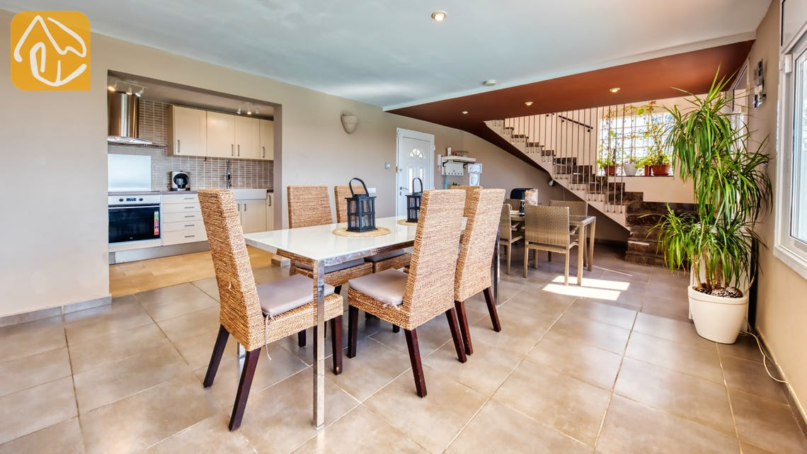 Vakantiehuizen Costa Brava Spanje - Villa Sofia - Diner zone