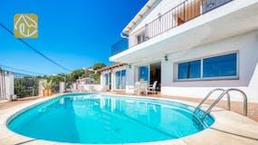 Casas de vacaciones Costa Brava España - Villa Sofia - Piscina