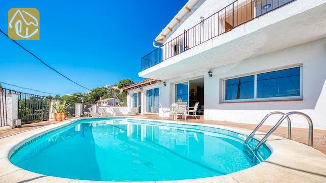 Ferienhäuser Costa Brava Spanien - Villa Sofia - Schwimmbad