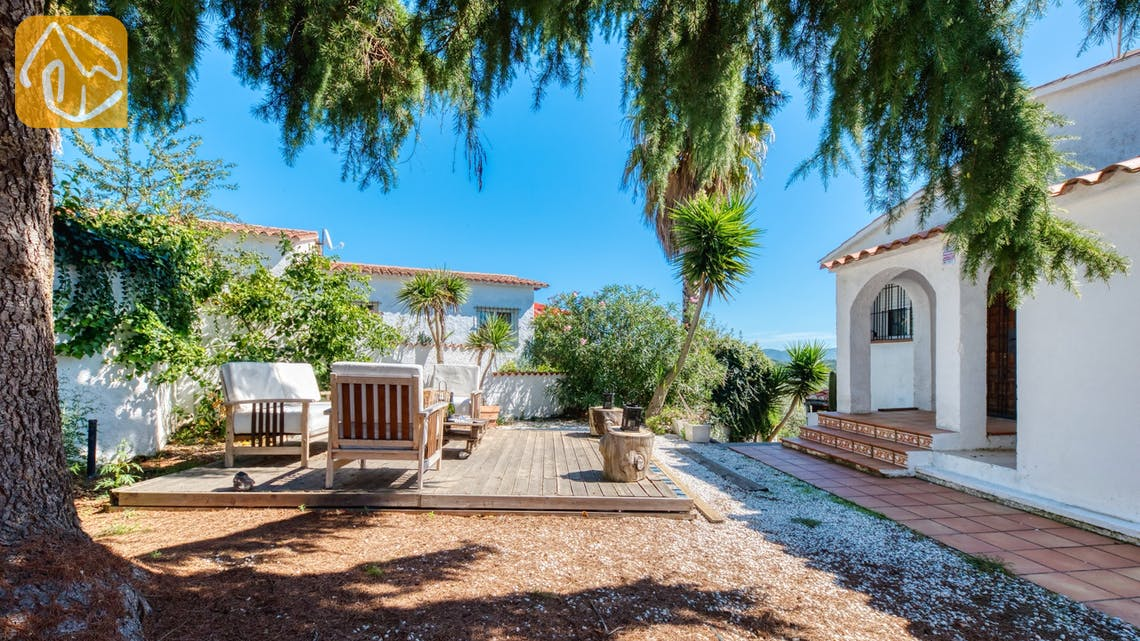 Ferienhäuser Costa Brava Spanien - Villa Sofia - Sitzecke