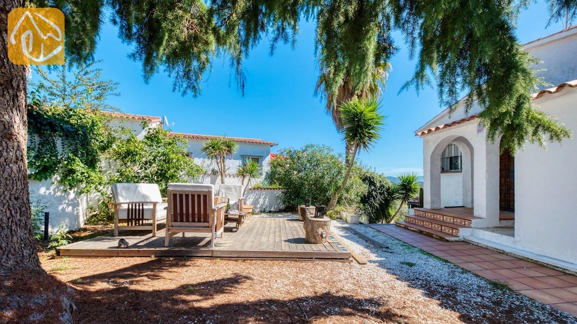 Vakantiehuizen Costa Brava Spanje - Villa Sofia - Lounge gedeelte