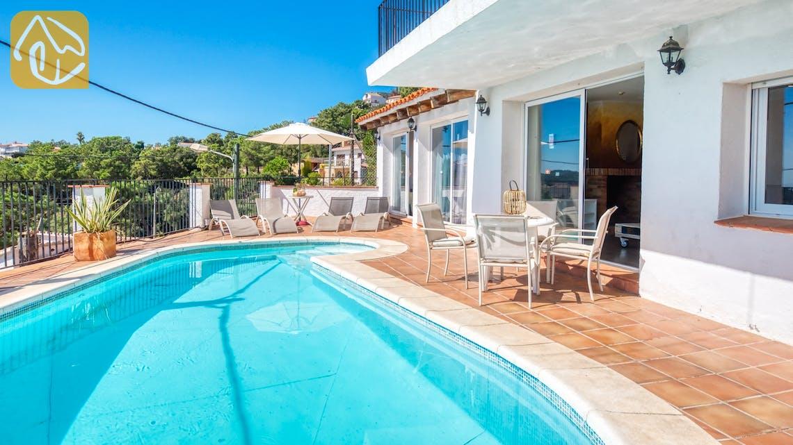 Vakantiehuizen Costa Brava Spanje - Villa Sofia - Zwembad