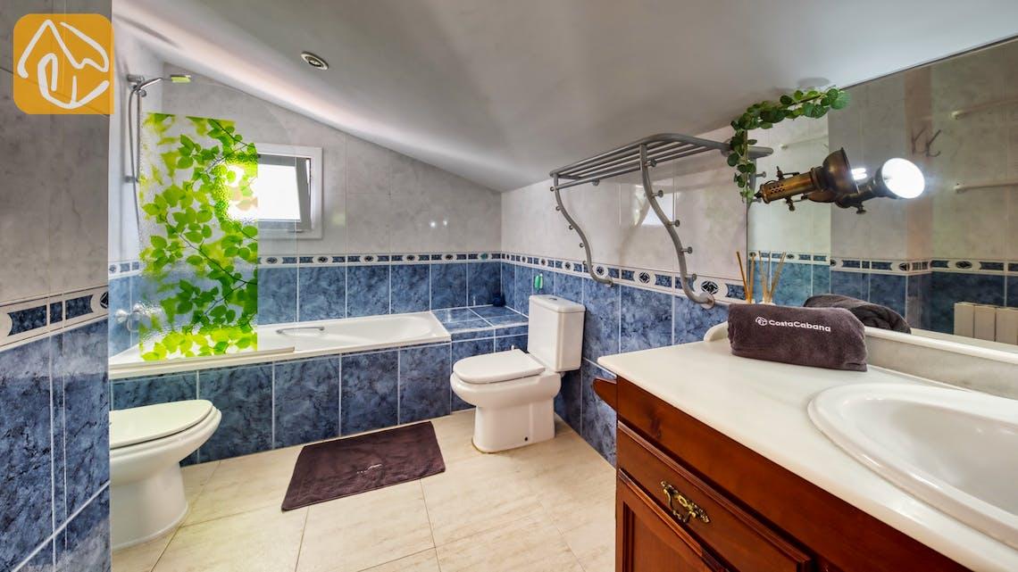 Casas de vacaciones Costa Brava España - Villa Geolouk - Baño