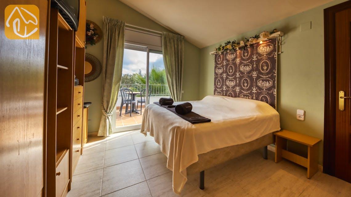 Holiday villas Costa Brava Spain - Villa Geolouk - Bedroom