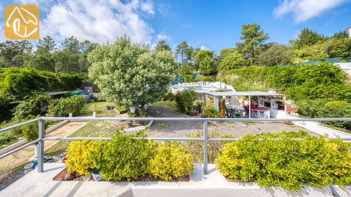 Vakantiehuizen Costa Brava Spanje - Villa Geolouk - Eén van de uitzichten