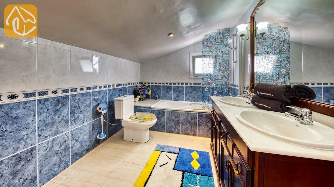 Holiday villas Costa Brava Spain - Villa Geolouk - Bathroom