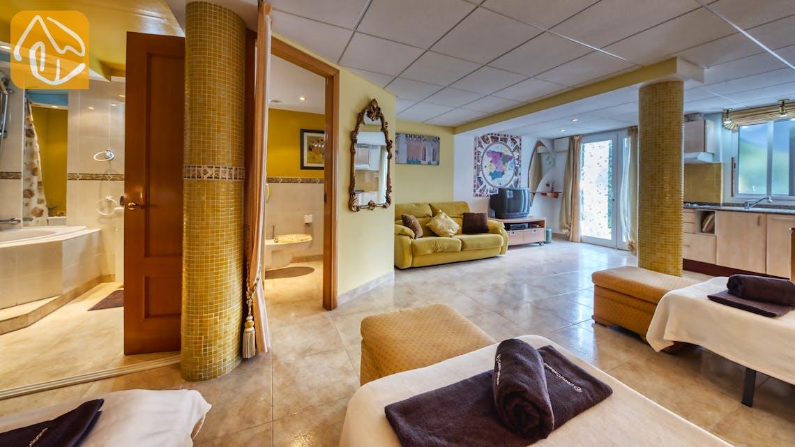 Holiday villas Costa Brava Spain - Villa Geolouk - Living area