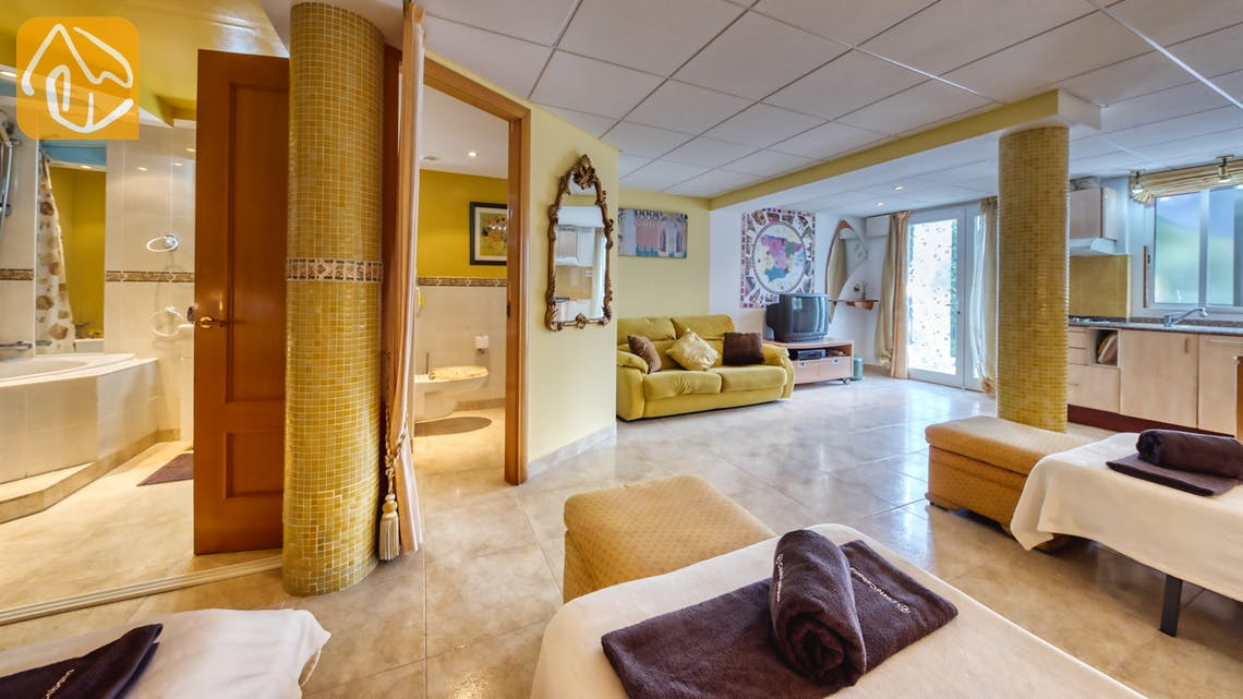 Vakantiehuizen Costa Brava Spanje - Villa Geolouk - Woonkamer