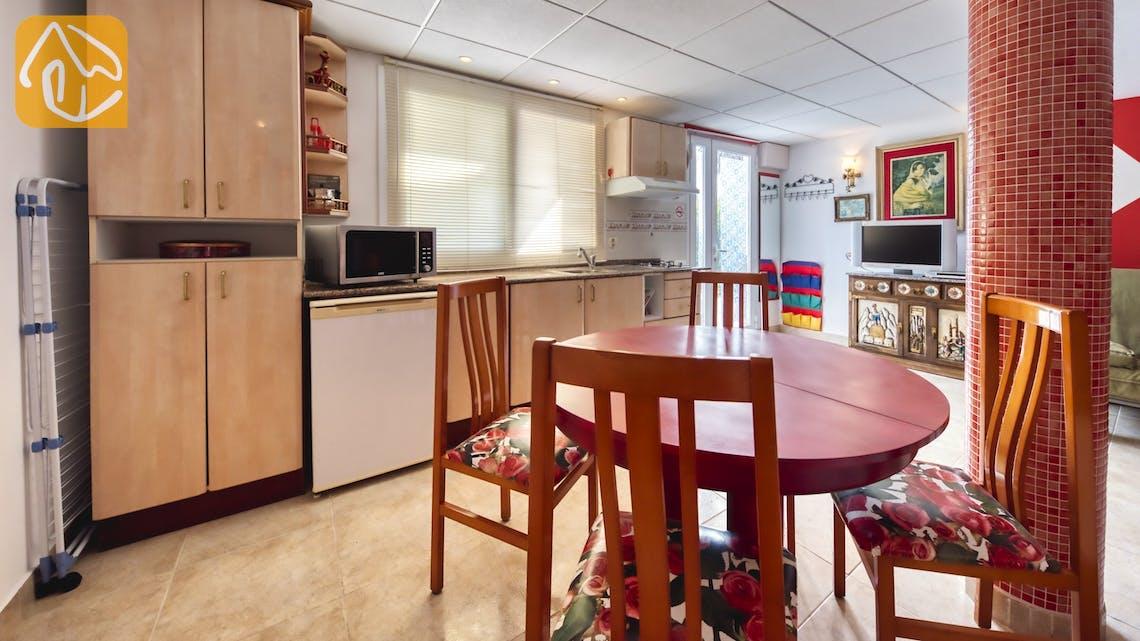 Holiday villas Costa Brava Spain - Villa Geolouk - Dining area