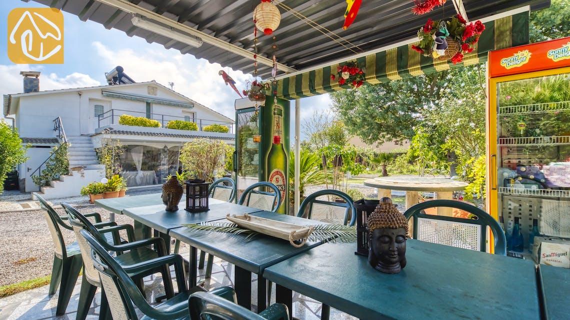 Holiday villas Costa Brava Spain - Villa Geolouk - Lounge area