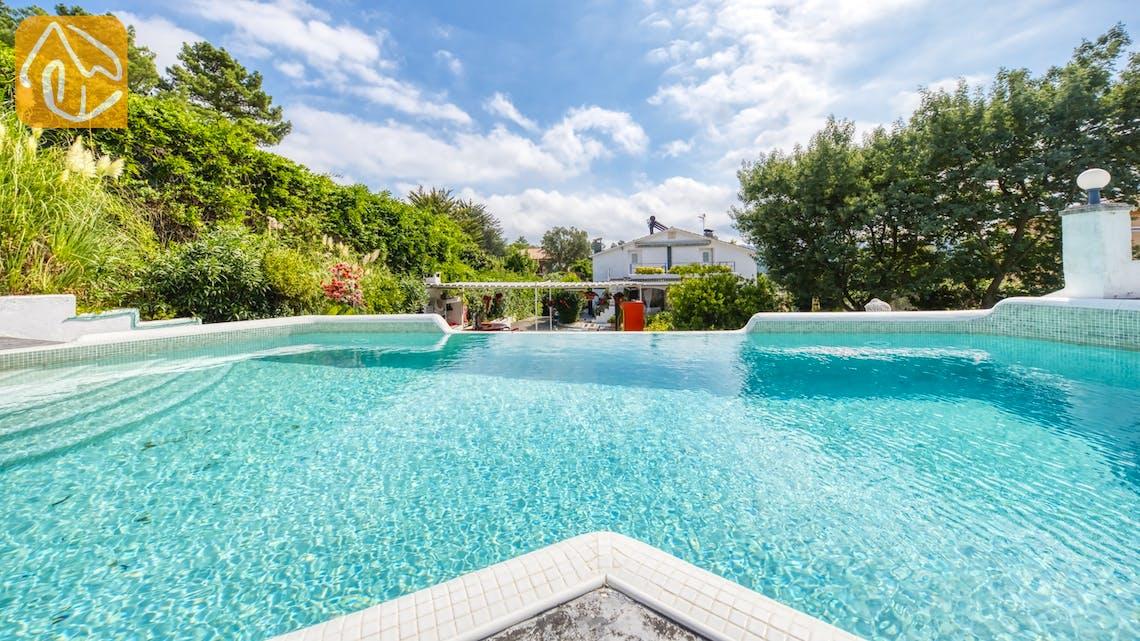 Casas de vacaciones Costa Brava España - Villa Geolouk - Piscina