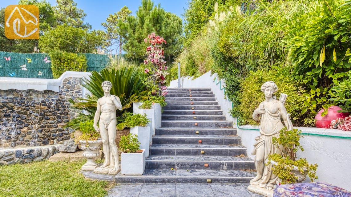 Holiday villas Costa Brava Spain - Villa Geolouk - Garden