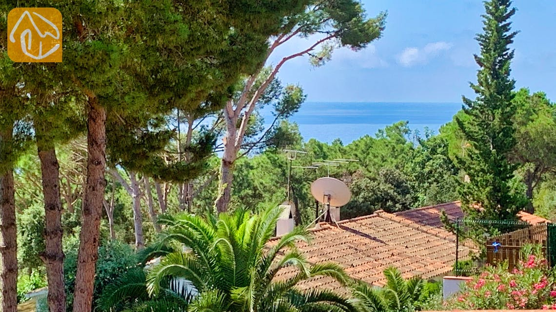 Holiday villas Costa Brava Spain - Casa Guadalupe - One of the views