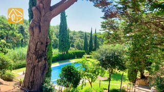 Villas de vacances Costa Brava Espagne - Casa Guadalupe - Piscine commune