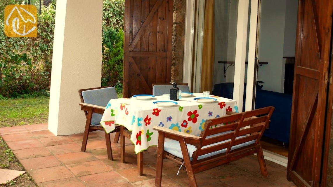 Vakantiehuizen Costa Brava Spanje - Casa Helena - Terras