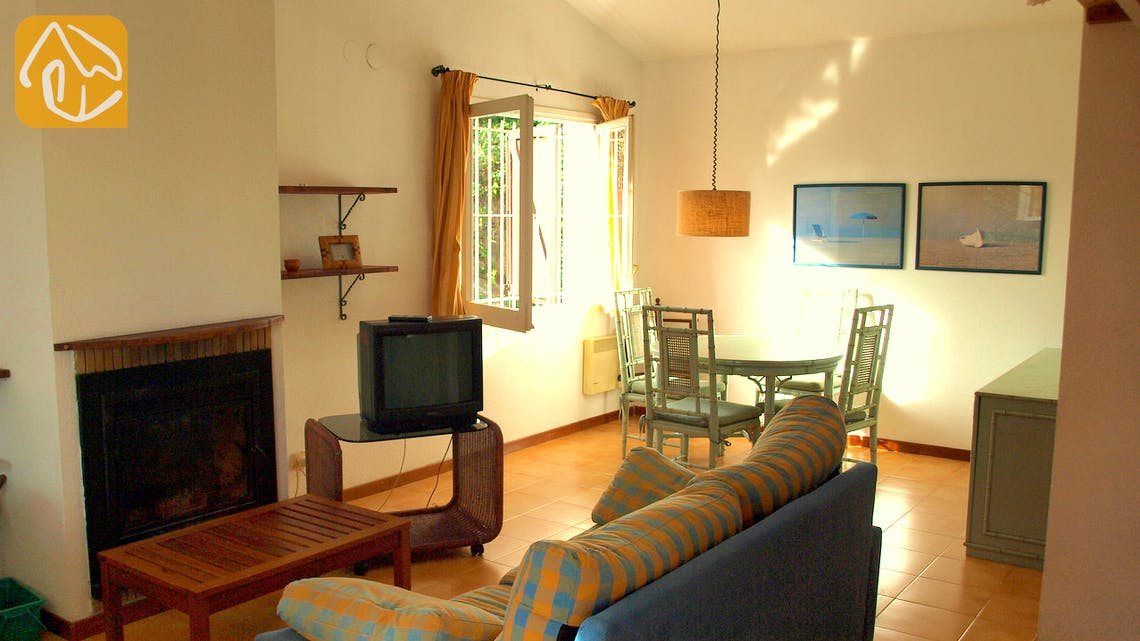 Vakantiehuizen Costa Brava Spanje - Casa Helena - Woonkamer