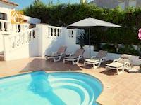 Ferienhäuser Costa Brava Spanien - Villa Liliana - Schwimmbad