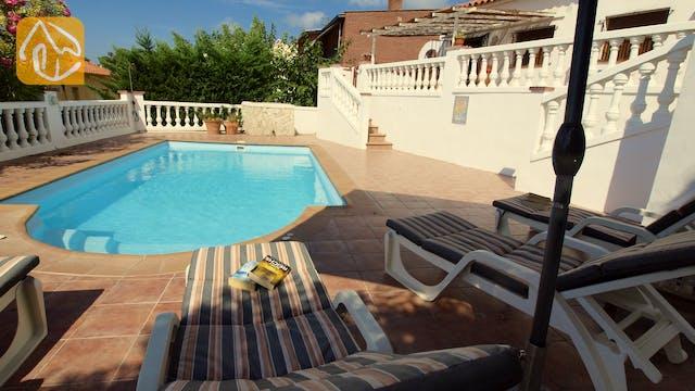 Vakantiehuizen Costa Brava Spanje - Villa Liliana - Ligbedden