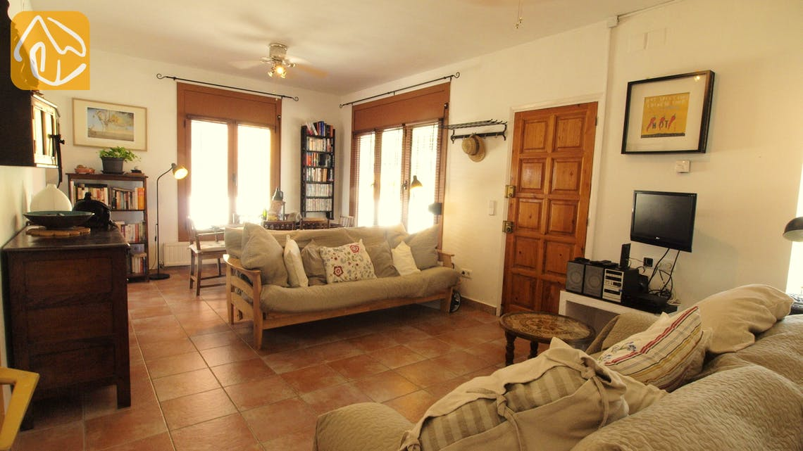 Holiday villas Costa Brava Spain - Villa Liliana - Living area