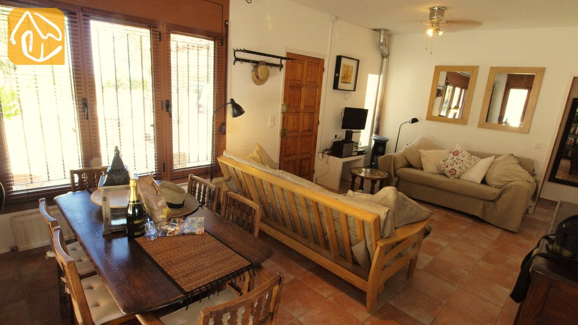 Holiday villas Costa Brava Spain - Villa Liliana - Living room