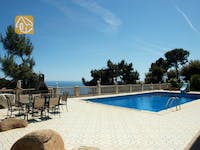 Holiday villas Costa Brava Spain - Villa Joana - Swimming pool