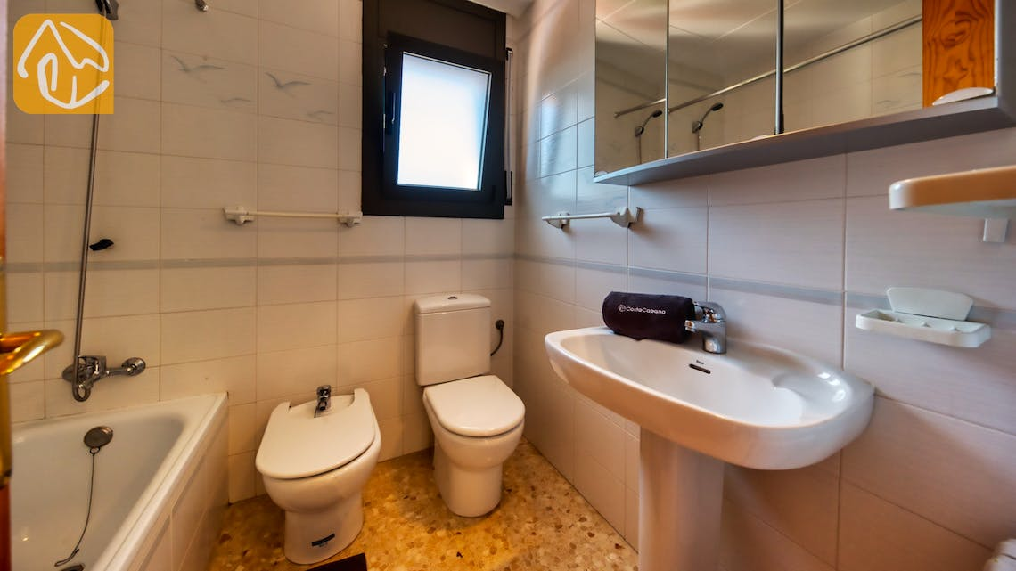 Holiday villas Costa Brava Spain - Villa Jaruco - Bathroom