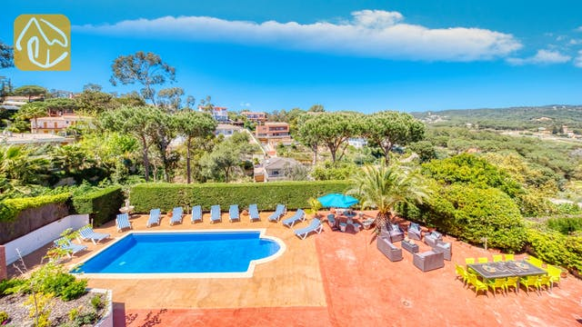 Holiday villas Costa Brava Spain - Villa Jaruco - Swimming pool