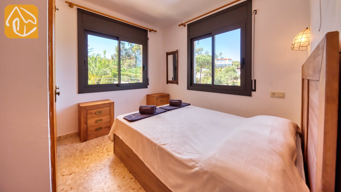 Holiday villas Costa Brava Spain - Villa Jaruco - Bedroom