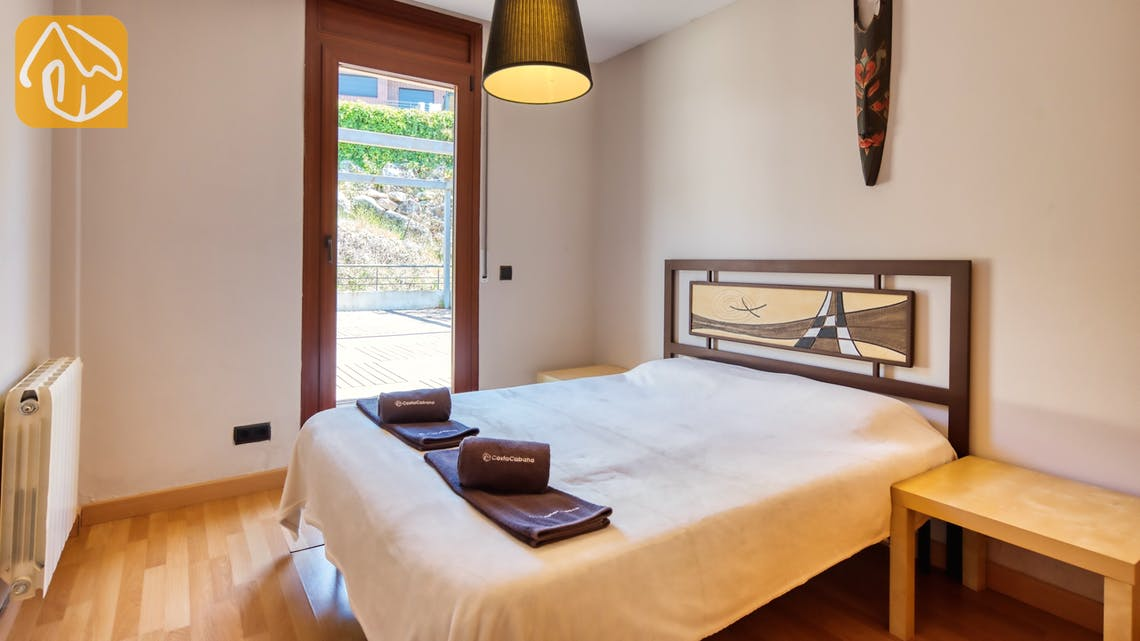 Holiday villas Costa Brava Spain - Villa Marcella - Bedroom