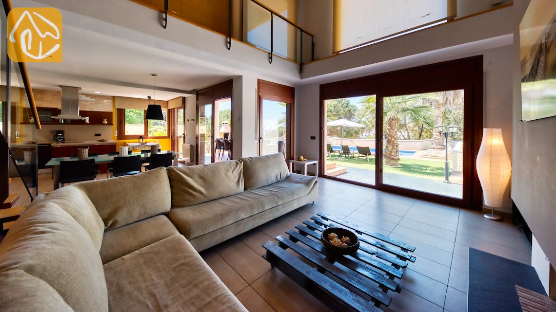Holiday villas Costa Brava Spain - Villa Marcella - Living area