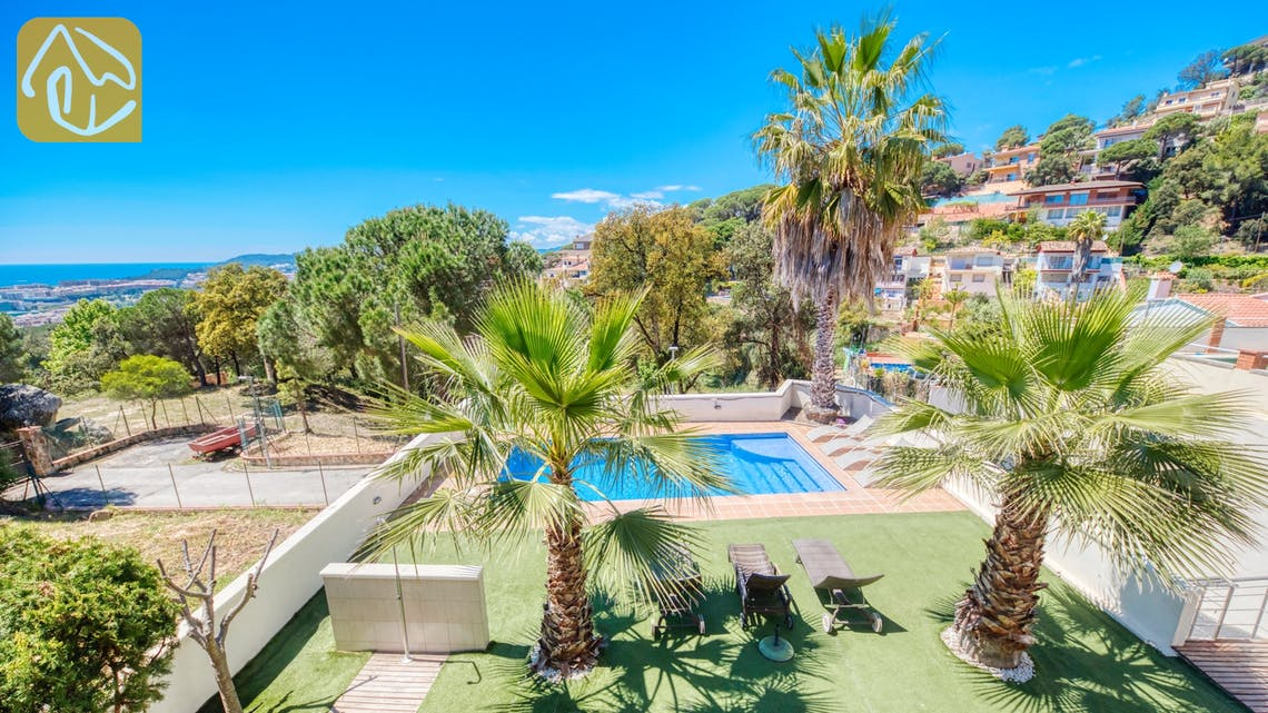 Holiday villas Costa Brava Spain - Villa Marcella - Swimming pool