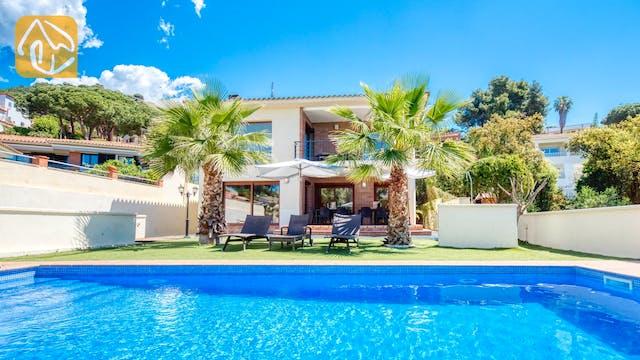 Ferienhäuser Costa Brava Spanien - Villa Marcella - Schwimmbad