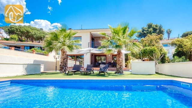 Vakantiehuizen Costa Brava Spanje - Villa Marcella - Zwembad