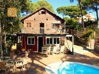 Ferienhäuser Costa Brava Spanien - Villa Carla - Villa Außenbereich