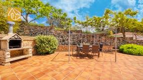Ferienhaus Costa Brava Spanien - Villa Lloret - Terrasse